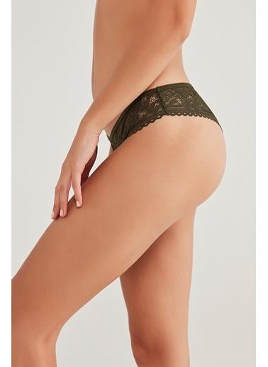 Penti Kadın Passion Lace Brazilian Külot PLZ101LT20SK Renkli
